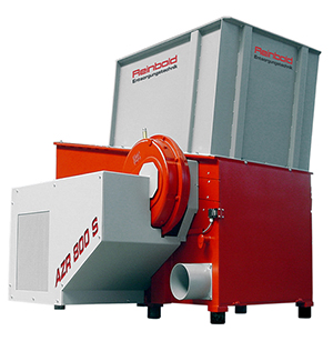 Reinbold Range of Shredders